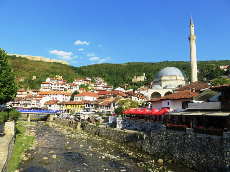 Prizren in Kosovo. One of the best cities to include in your Kosovo itinerary