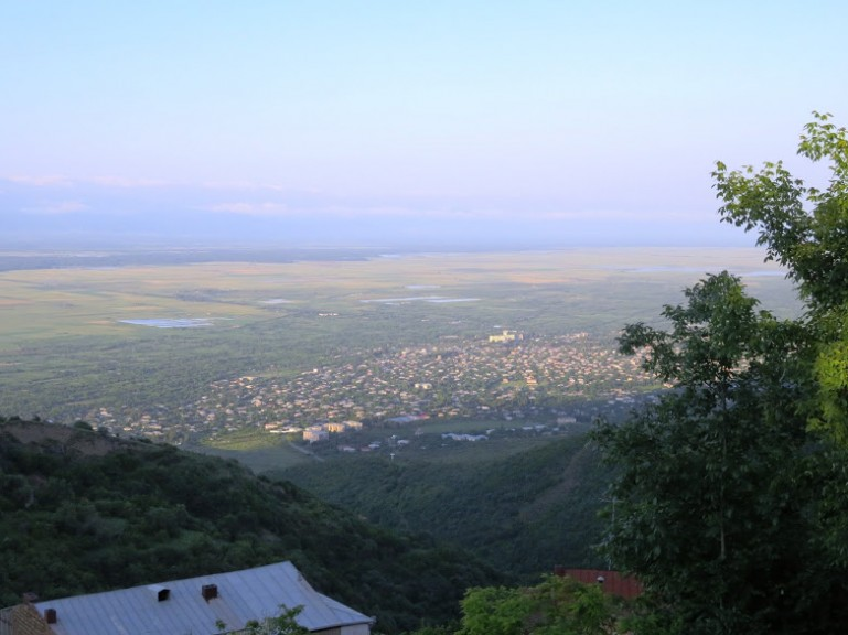 View on Tsnori from Sighnaghi