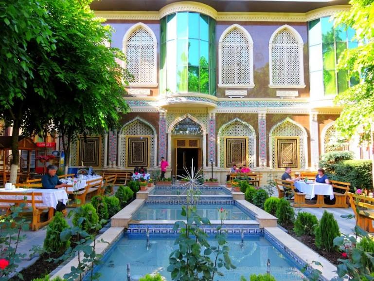 Chalabi Khan restaurant in Sheki