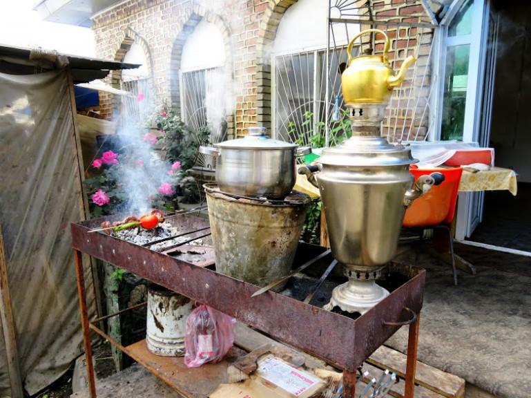 Tea in Sheki