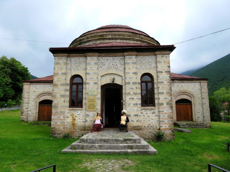 Three saints church in Sheki Azerbaijan