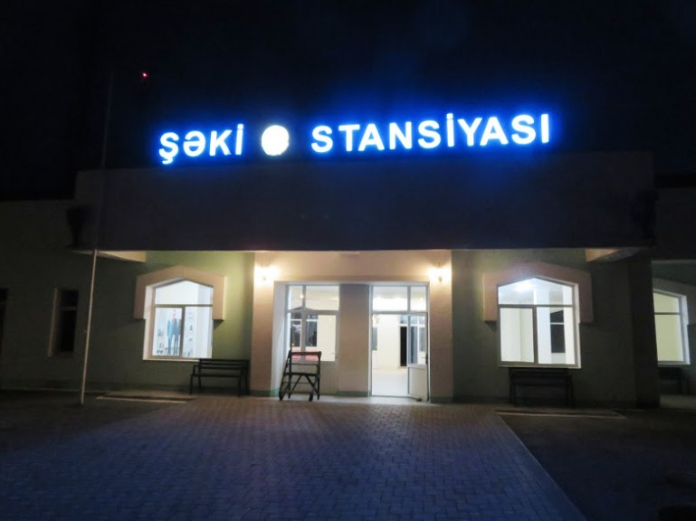 Sheki train station