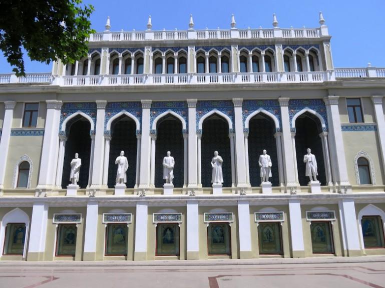 Nizami museum of Literature in Baku
