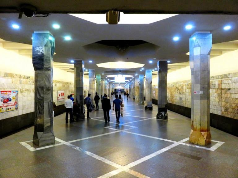 Metro station in Baku