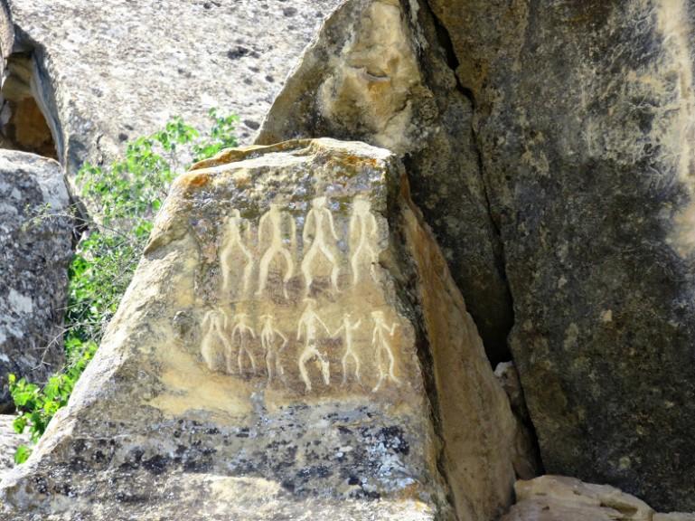 The Gobustan Petroglyphs make a great day trip from Baku into the Absheron Peninsula