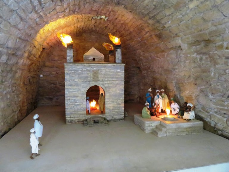 Atesgah fire temple is among the top day trips from Baku into the Absheron Peninsula