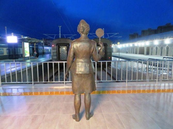 Baku express: the train from Sheki to Baku