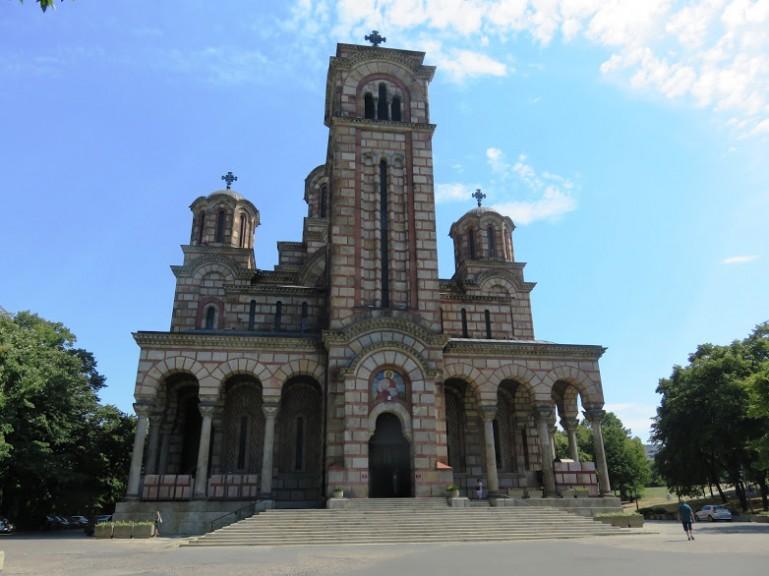 Marcus church in Belgrade Serbia
