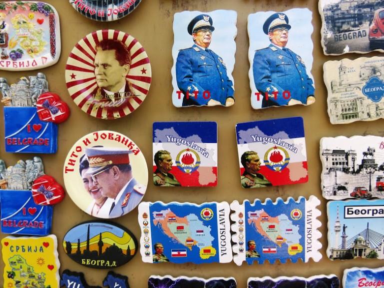 Souvenirs in Belgrade Serbia