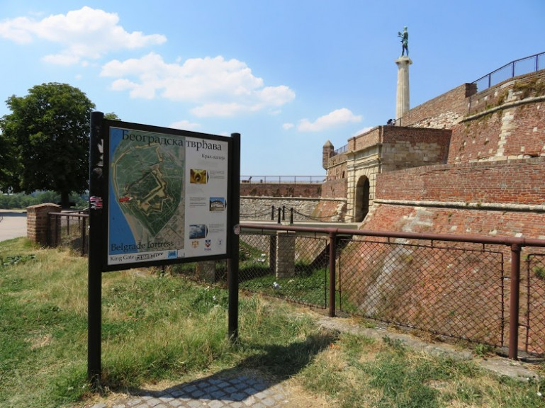 Kalamegdan fortress is among the best things to do in Belgrade Serbia
