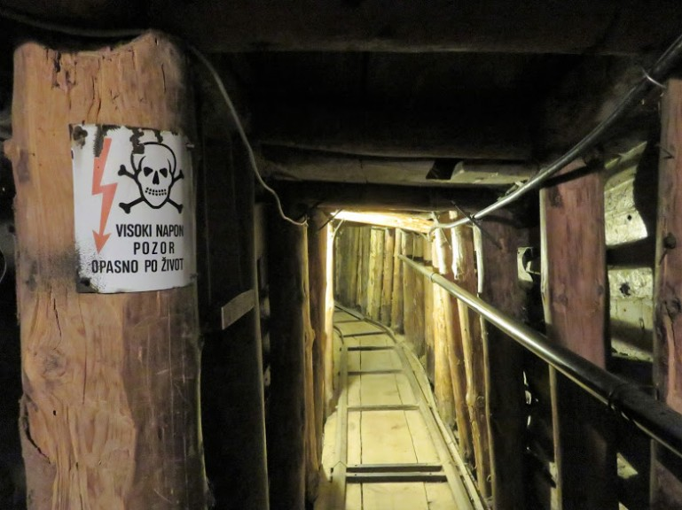 The tunnel museum is among the top things to do in Sarajevo Bosnia