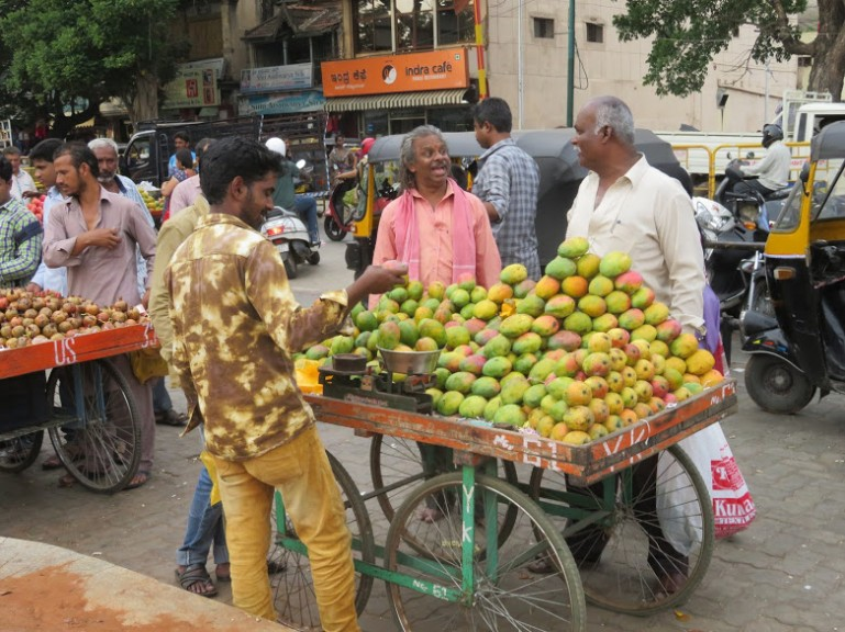 devaraja bazaar is among the top things to do in Mysore