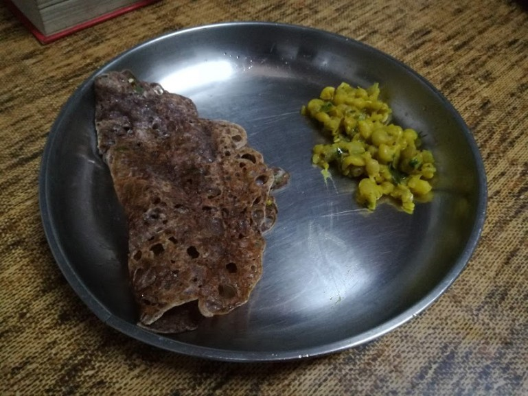 best food in mysore: ragi dosa