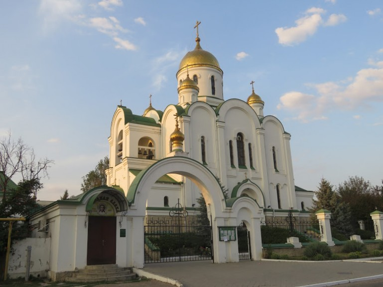 the christmas cathedral in Tiraspol