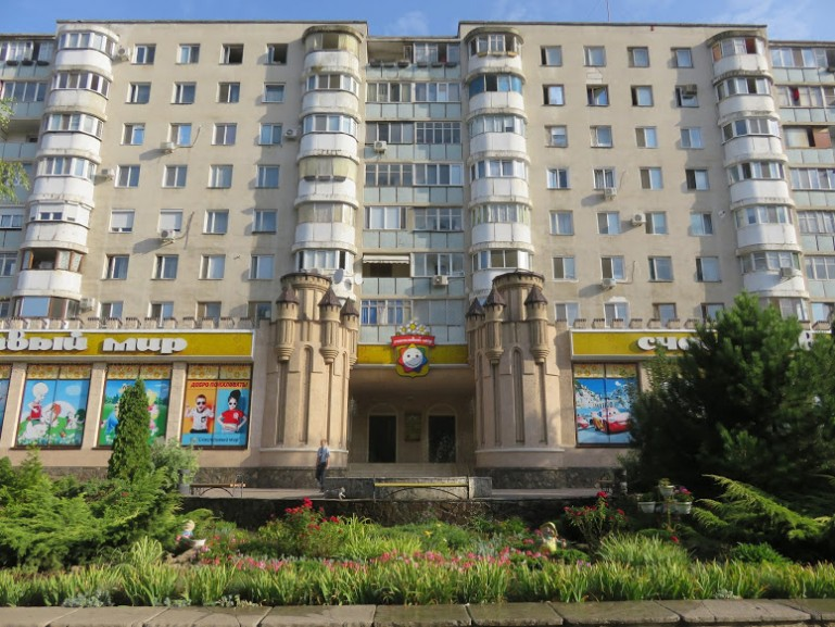 Soviet flat building. Exploring Soviet architecture is among the best things to do in Tiraspol