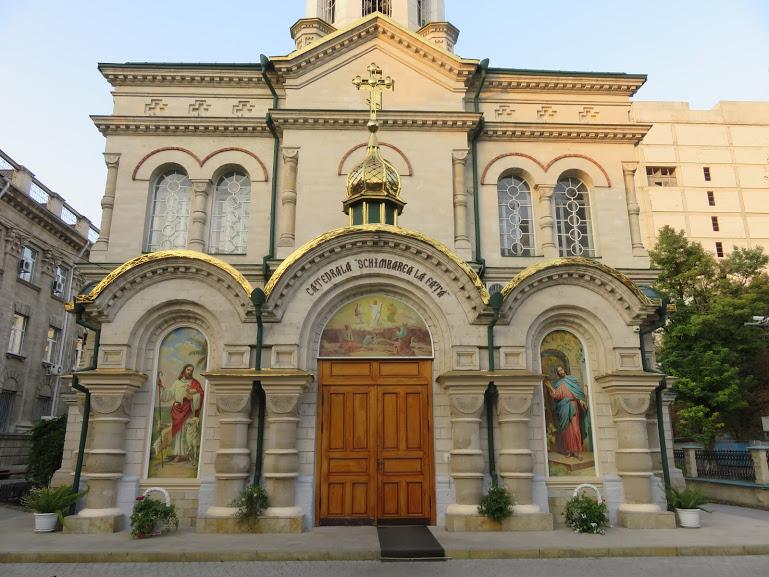 Transfiguration church in Chisinau
