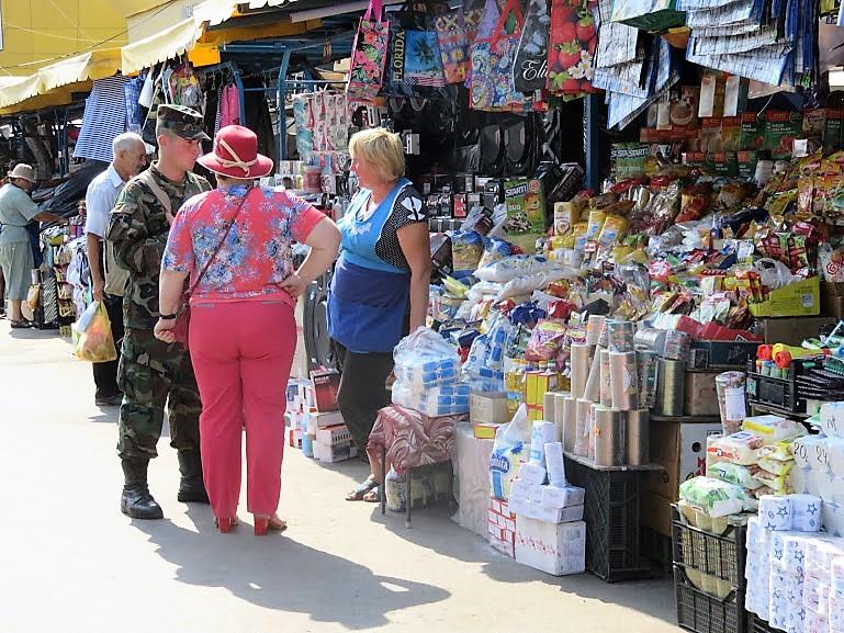 market in Chisinau