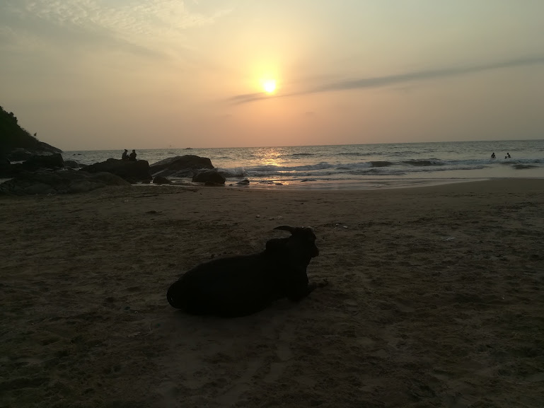 Gokarna main beach is among the best places to visit in Gokarna