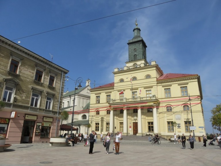 The Town Hall in Lublin Poland
