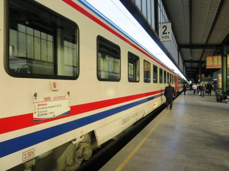 Dogu express train at Ankara station