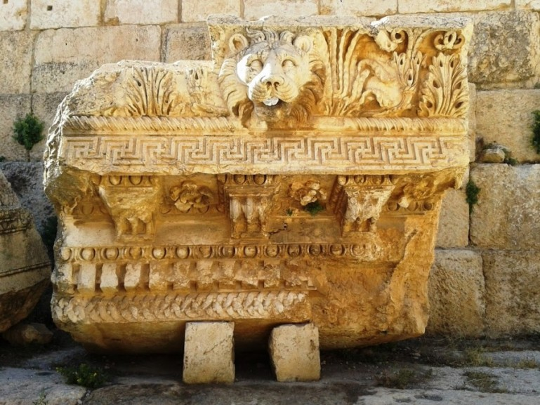 Baalbek in Lebanon