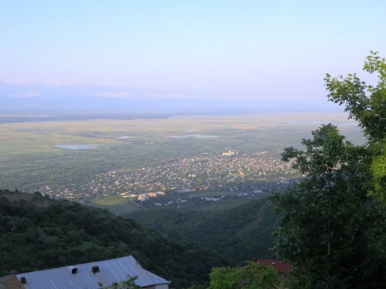 view from sighnaghi