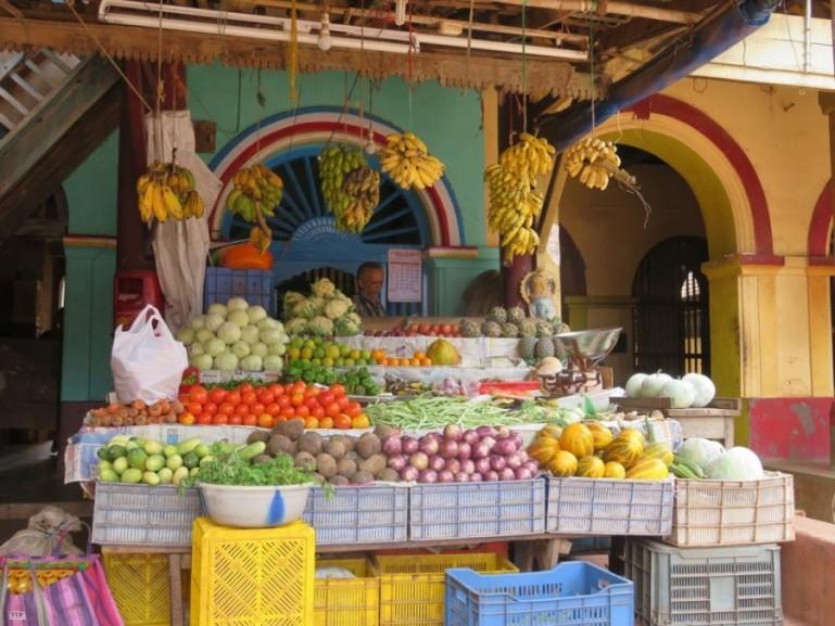 Market in Gokarna