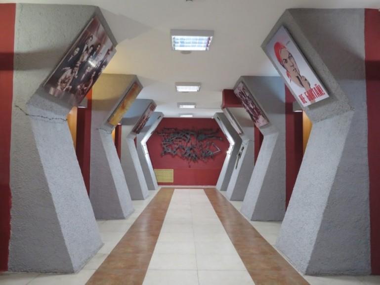 Exposition room in the regional museum in Karaganda