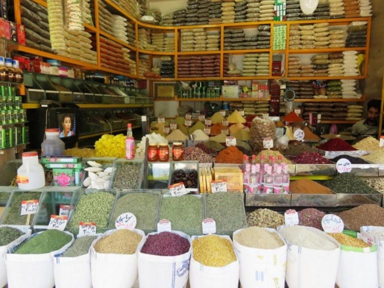 bazaar in Kermanshah Iran