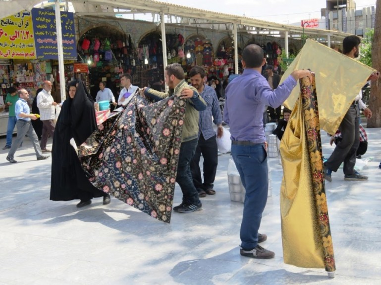 Bazaar in Qom Iran