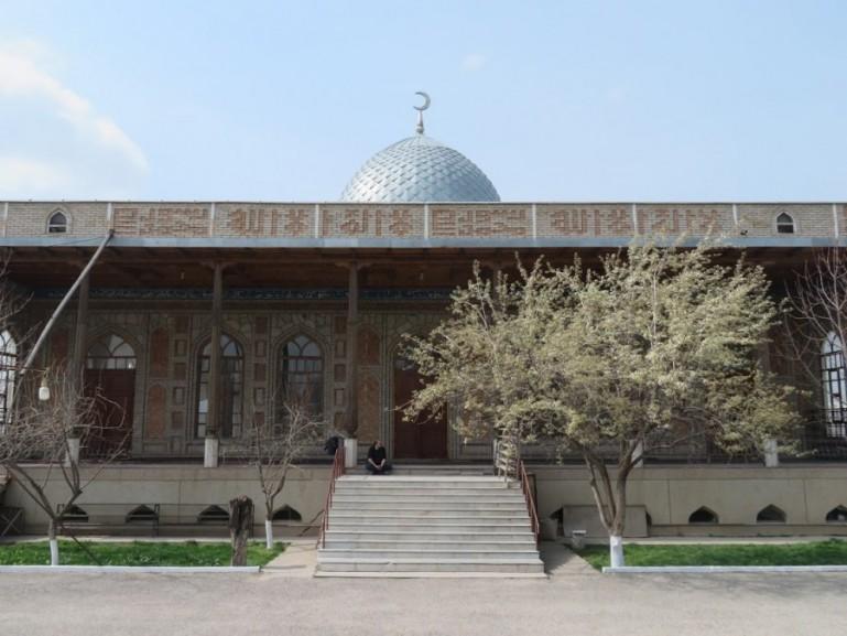 mosque in Sayram near Shymkennt Kazakhstan