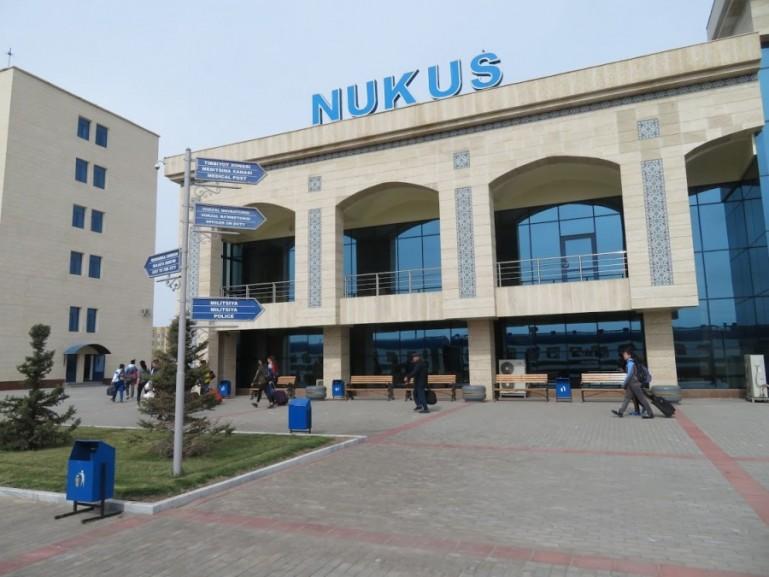 Nukus train station