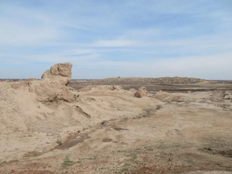 Qaur qala fortress near Nukus