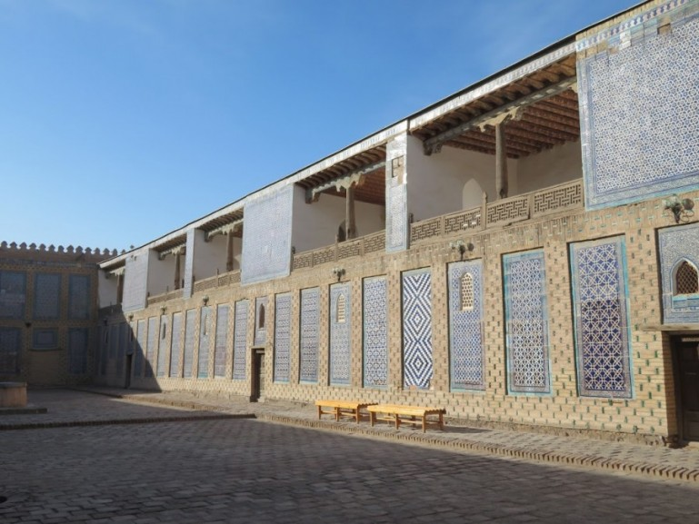 Tosh Hovli palace is among the top things to do in Khiva Uzbekistan