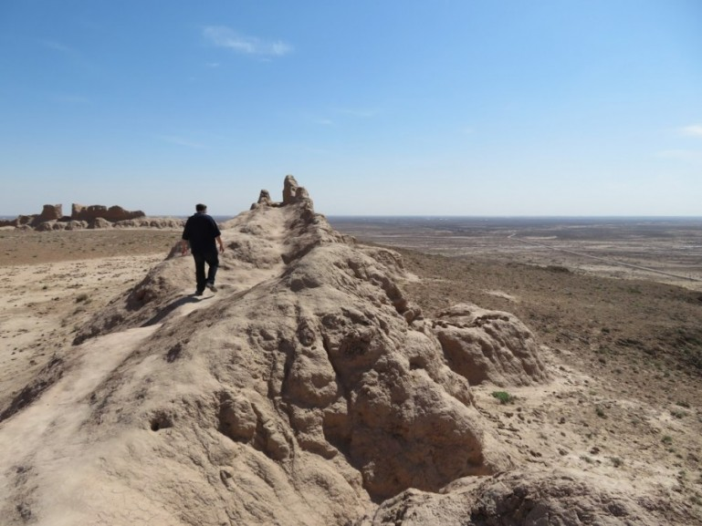 the desert fortresses of Khorezm are among the top things to do near Khiva