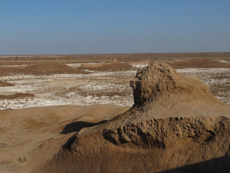 Kyzyl Kum desert in Karakalpakstan