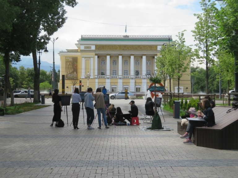 Abai Opera house in Almaty