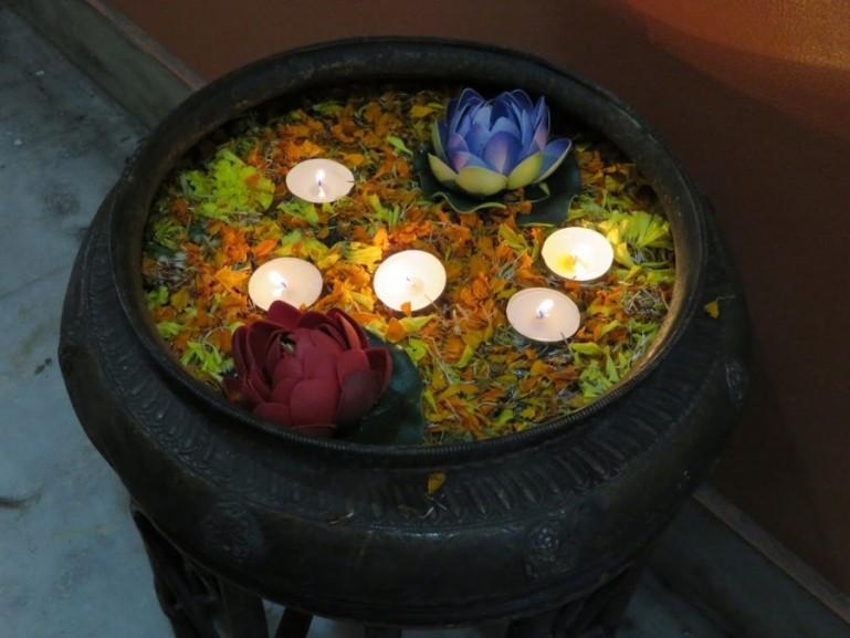 Diwali festival in Varanasi