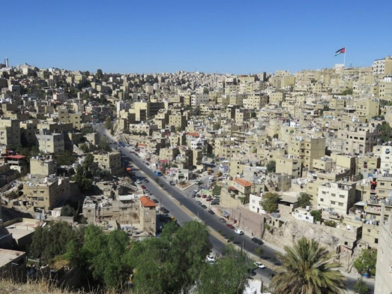 Amman is the capital of Jordan and should be the start of your backpacking Jordan trip
