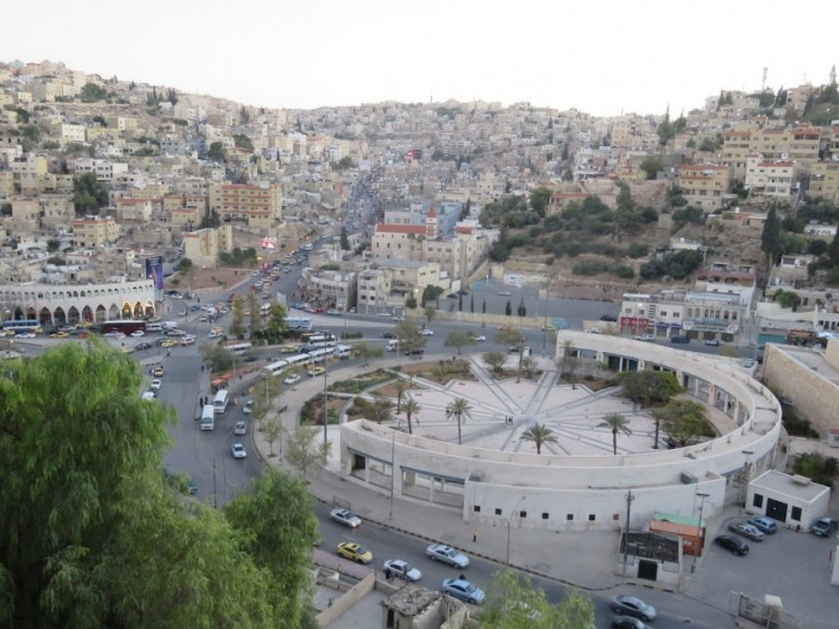 Traffic in Amman Jordan