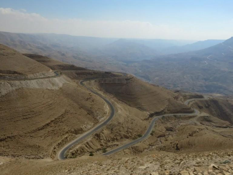 The Kings highway in Jordan