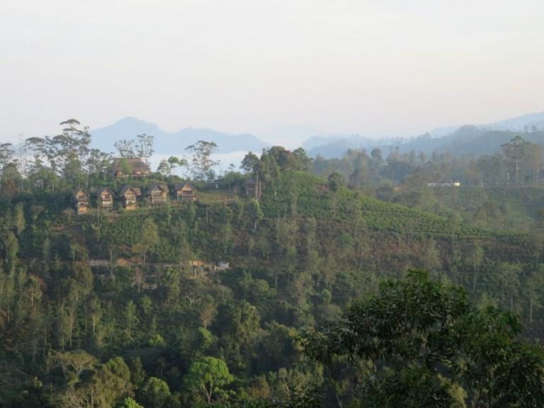 View from little Adams peak in Ella