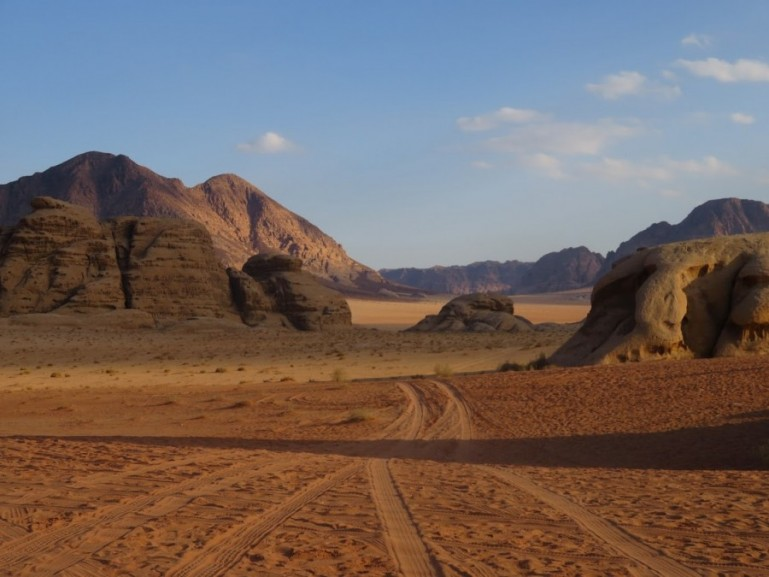 Wadi Rum is a must on your backpacking Jordan trip