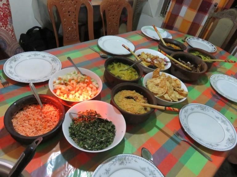 Sri Lankan food in Ella