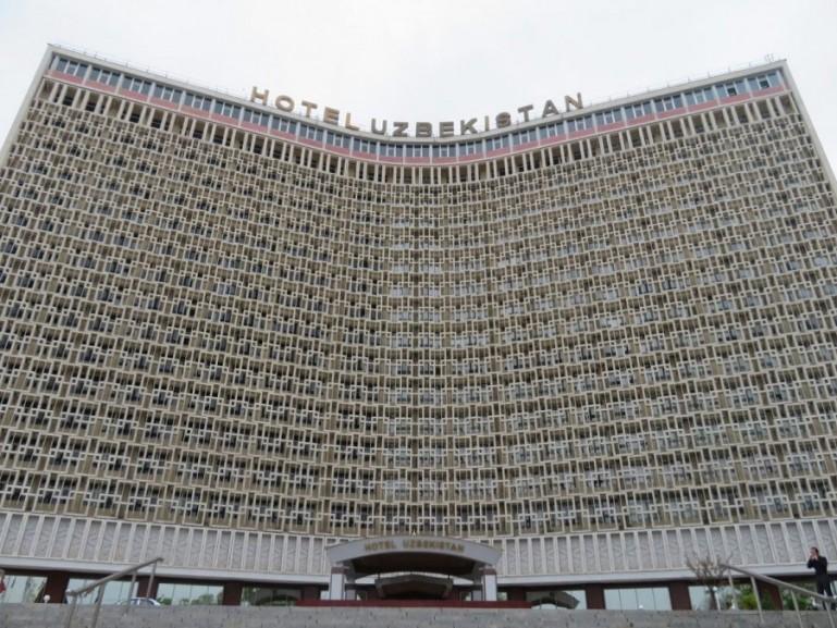 Hotel Uzbekistan in Tashkent Uzbekistan