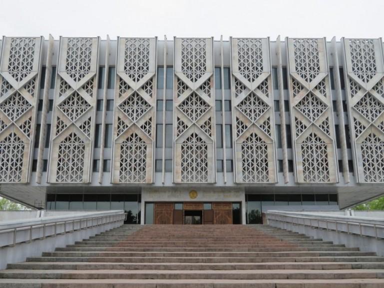 State History Museum in Tashkent Uzbekistan