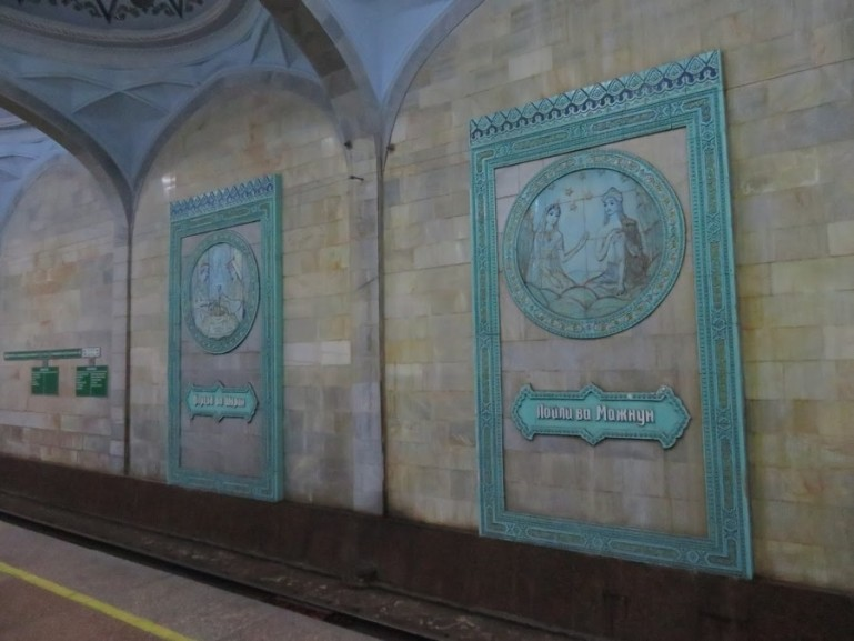 Alisher navoi is among the most beautiful stations of all the Tashkent metro stations