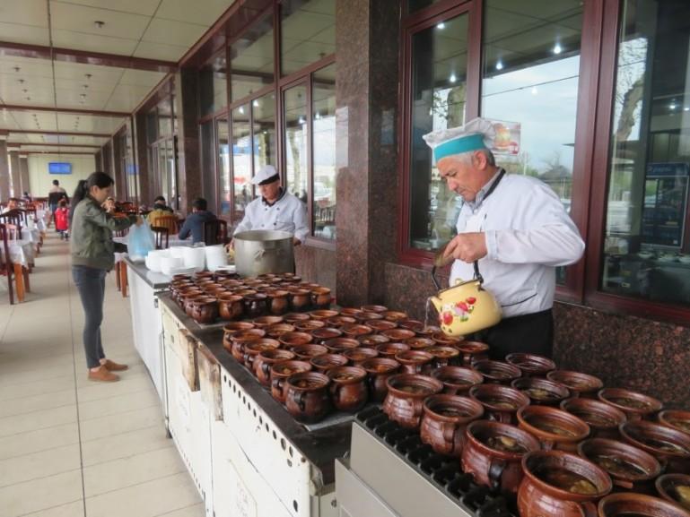 National food in Tashkent Uzbekistan
