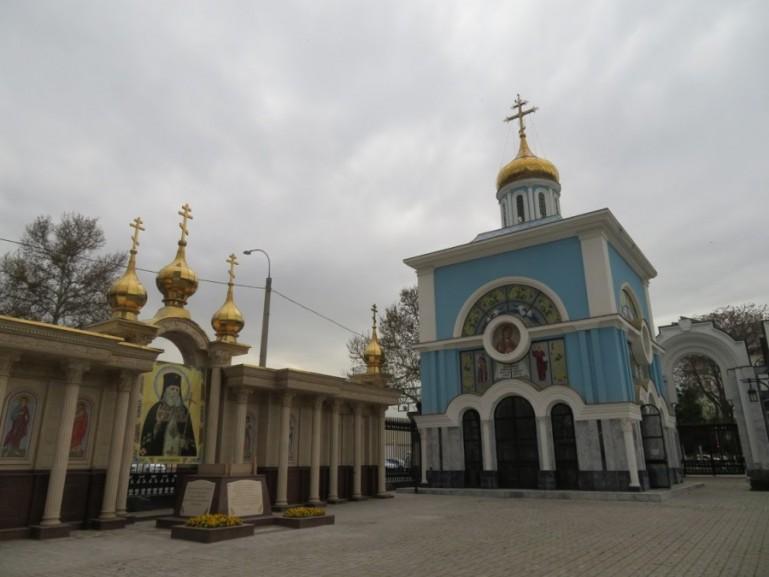 Russian orthodox church in Tashkent Uzbekistan