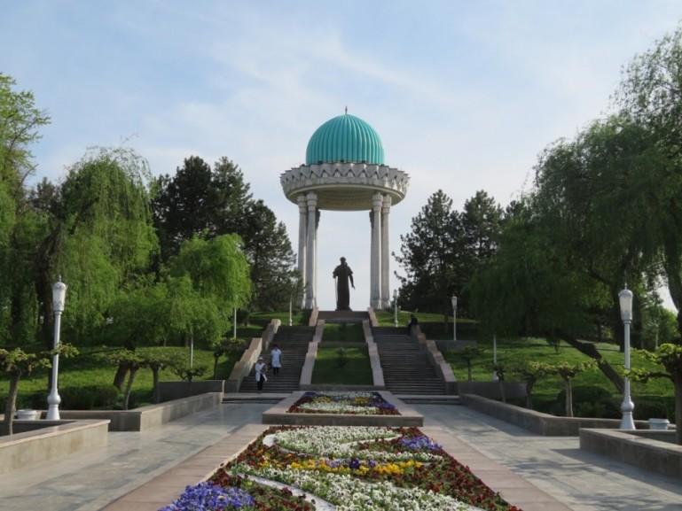 Navoi Park in Tashkent Uzbekistan